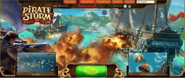 Pirate Storm Free High Seas Package