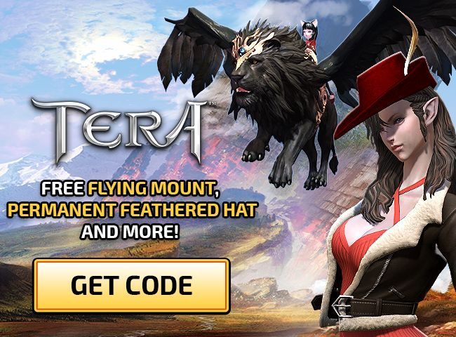 TERA: Fang and Feather Giveaway Promo Codes