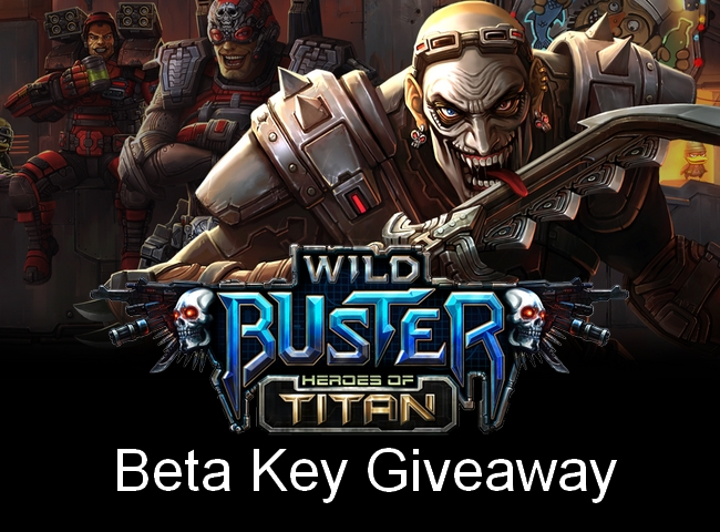 Wild Buster Steam Closed Beta Weekend Promo Codes