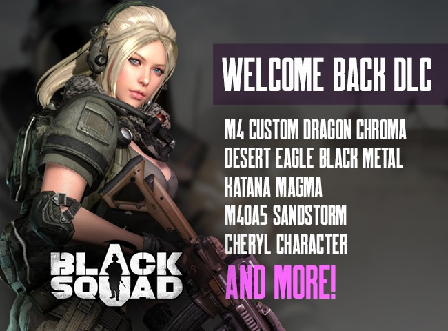 Black Squad: Steam Key Giveaway Promo Codes