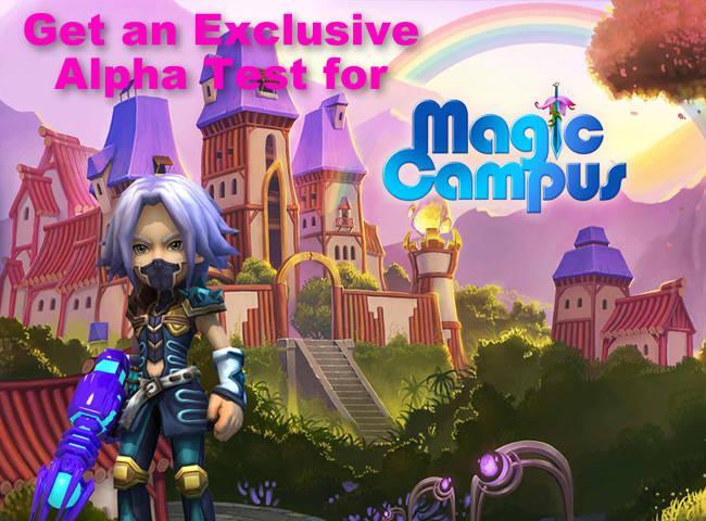 Magic campus online game