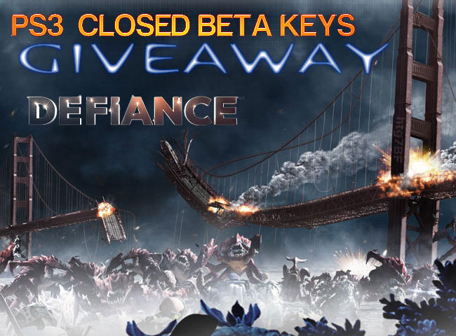 Defiance Closed Beta Key Giveaway PS3 Promo Codes