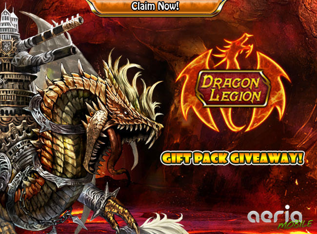 Dragon Legion Free Giveaway RPG App Store Game Promo Codes