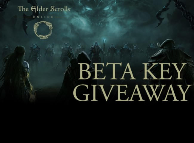 The elder scrolls online beta key giveaways