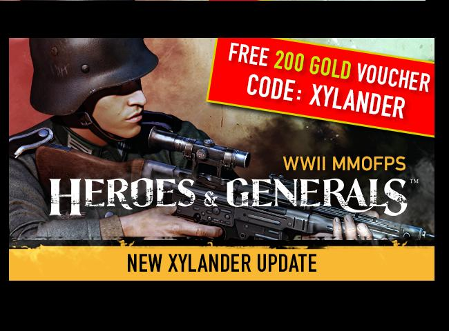 HEROES AND GENERALS PROMOTIONAL CODE